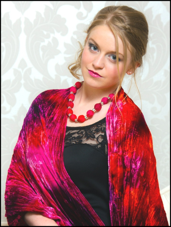 Single and Multi Dyed Silk Velvet